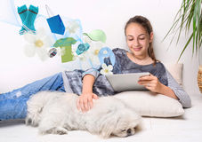 Online shopping. Stock Images