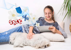 Online shopping. Royalty Free Stock Photo