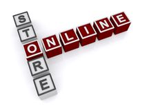 Online sklep Zdjęcie Royalty Free