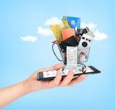 Online sklepowy pojęcie Obraz Stock