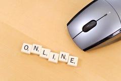 Online Spelen royalty-vrije stock afbeeldingen