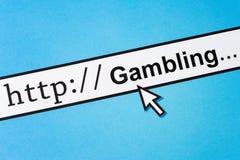 Online spielend Lizenzfreie Stockfotografie