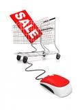 online sprzedaż Obrazy Stock