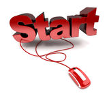 Online start Stock Images