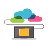 Online Storage. File Sharing concept Royalty Free Stock Photography