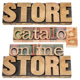 Online store Royalty Free Stock Photos