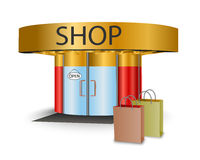 Online store Royalty Free Stock Images