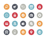 Online Store Icons // Classics Series Stock Photography