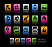 Online Store Icons Royalty Free Stock Image