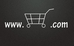 Online store symbol Royalty Free Stock Photography