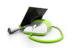 Online studie Stock Foto