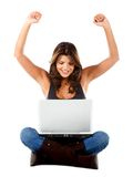 Online succes Stock Photography