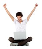 Online success Royalty Free Stock Photo