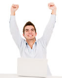 Online success Stock Photography