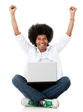 Online success Royalty Free Stock Image