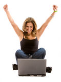 Online success Stock Photo