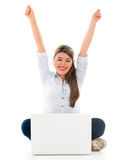 Online success Royalty Free Stock Photography