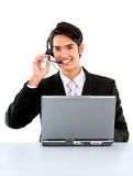 Online support Stock Image