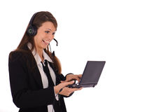 Online support Royalty Free Stock Photo