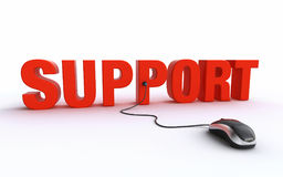 Online support Stock Photos