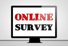 Online Survey Royalty Free Stock Photography