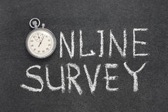 Free Online Survey Watch Royalty Free Stock Image - 94093466