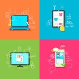 Online Technologie Royalty-vrije Stock Fotografie