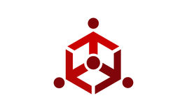 Online-teknologi för marknadsföringsaffärsfördelning Royaltyfri Foto