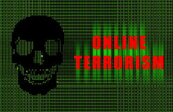 Online Terrorism Royalty Free Stock Images