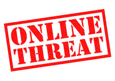 ONLINE THREAT Stock Images