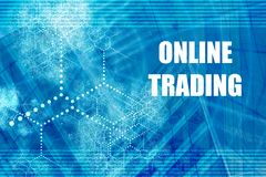 Online Trading Royalty Free Stock Photo