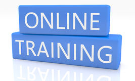 Online Training Royalty Free Stock Image