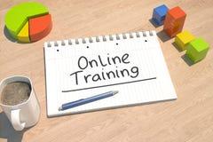 Online Training Stock Image