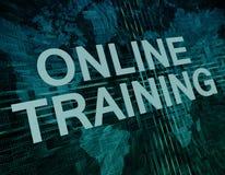 Online Training Royalty Free Stock Photos