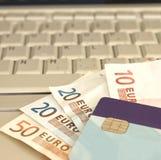 Online transacties Royalty-vrije Stock Fotografie