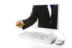 Online Transaction Stock Image