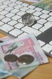 Online transakci pojęcie zdjęcie stock