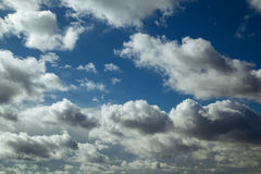 Online translator bright blue sky. With clouds and clouds Stock Photos