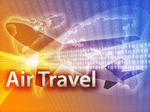 Online travel Stock Image