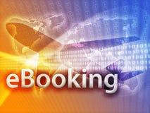 Online travel royalty free illustration