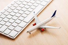 Online travel Stock Photo