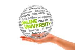 Online Universiteit Royalty-vrije Stock Afbeeldingen
