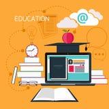 Online-utbildning, yrkesutbildning Arkivbilder