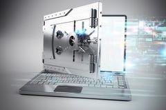 Online veilig bankwezen Royalty-vrije Stock Foto's