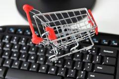 Online winkelend Royalty-vrije Stock Foto's