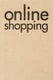 Online Winkelend Stock Afbeelding