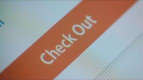 Online Winkelend stock videobeelden