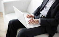 Online work Stock Image