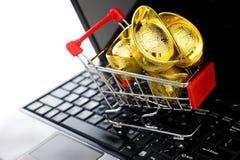 online zakupy Obraz Stock