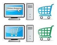 online zakupy royalty ilustracja
